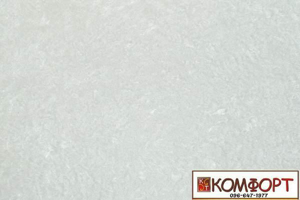 Образец жидких обоев Экобарвы серии Софт белого цвета с голубым оттенком