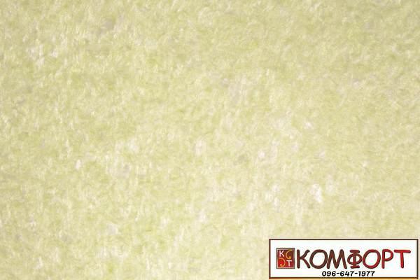 Образец жидких обоев Экобарвы серии Софт темно-салатового цвета