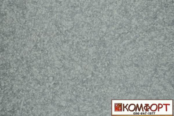 Образец жидких обоев Экобарвы серии Лайт с текстильным волокном темно-серого цвета