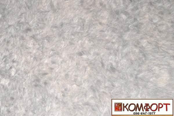 Образец жидких обоев Экобарвы серии Софт пыльно-серого цвета