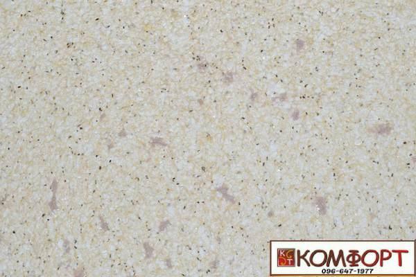 Образец жидких обоев Экобарвы серии Лайт Плюс песочно-фиолетового цвета