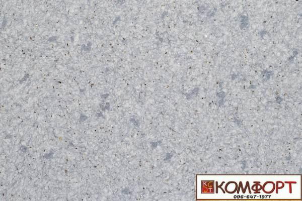 Образец жидких обоев Экобарвы серии Лайт Плюс серого цвета