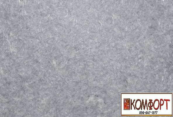 Образец жидких обоев Экобарвы серии Найс серого цвета