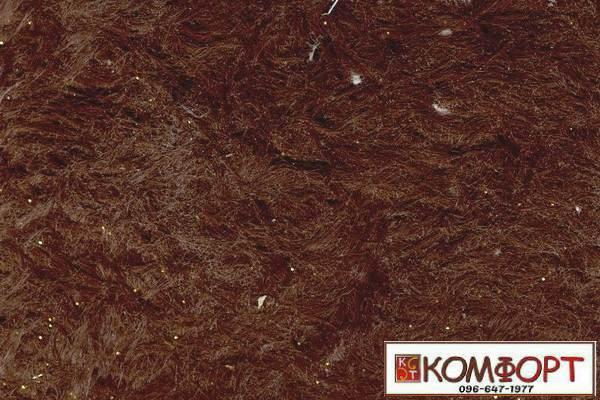 Образец жидких обоев Стиль коричневого цвета