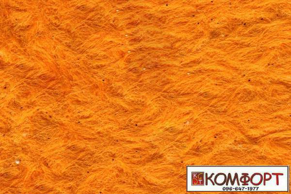 Образец жидких обоев Стиль оранжевого цвета