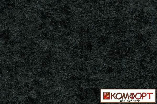 Образец жидких обоев Стиль черного цвета