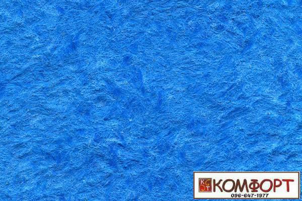 Образец жидких обоев Стиль синего (глубокое море) цвет