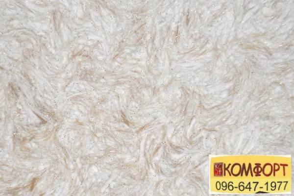 Образец жидких обоев Limil Каталог 4 с волокном светло-коричневого цвета декором