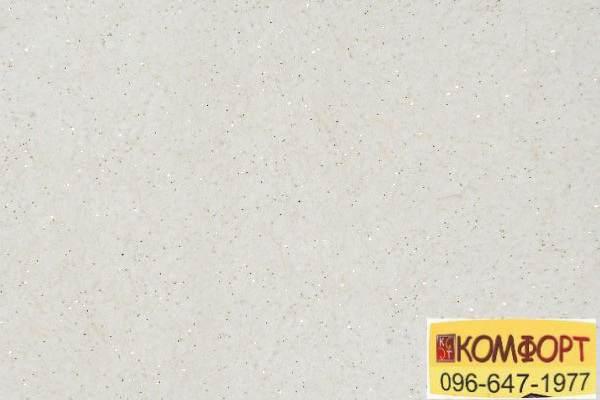 Образец жидких обоев Limil Каталог 5 бежевого цвета, декором из золотистых блесток